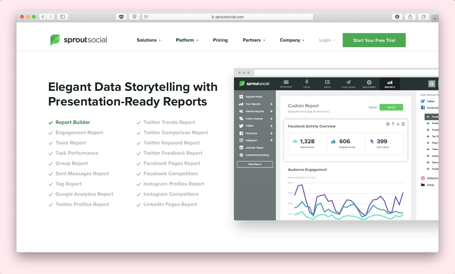 Стартап дня: единый интерфейс для работы с соцсетями Sprout Social