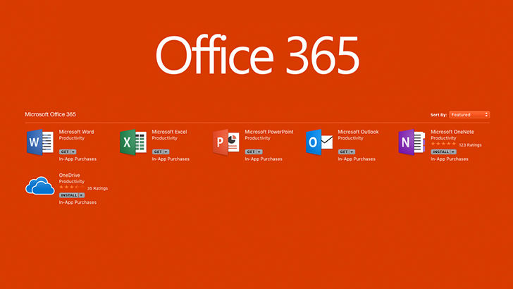Microsoft Office стал доступен в Mac App Store