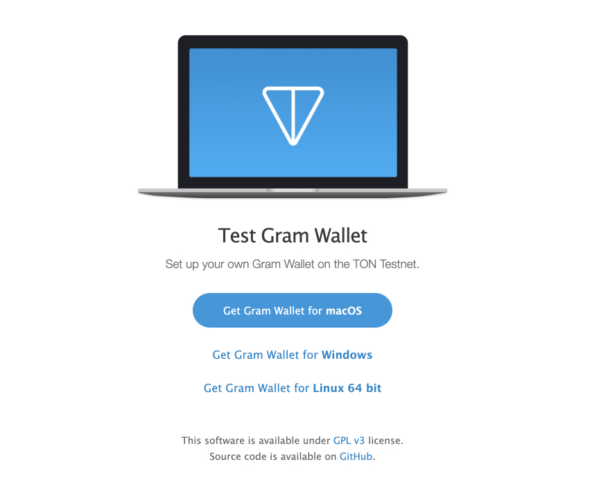 TON Gram Wallet появился на GitHub в тестовом режиме