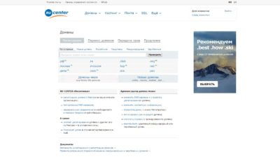 Nic.ru (RUcenter)