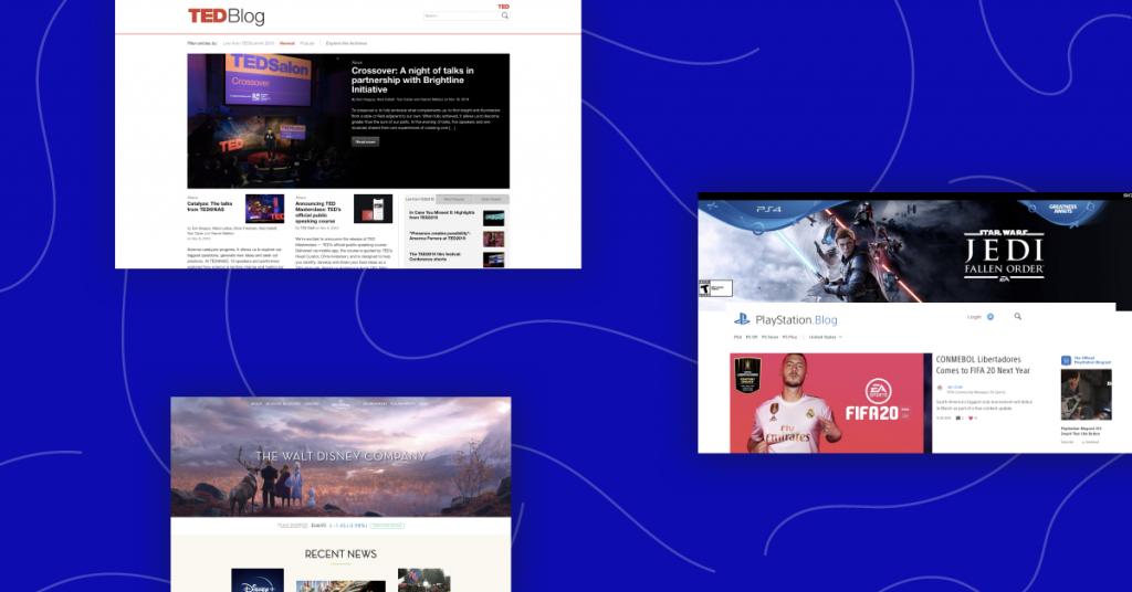 25 известных сайтов WordPress, о которых вы точно знаете