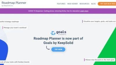 Roadmap planner