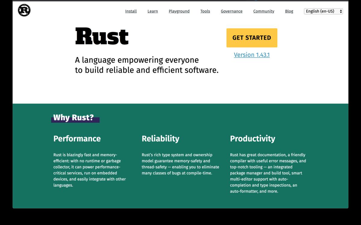Rust язык программирования