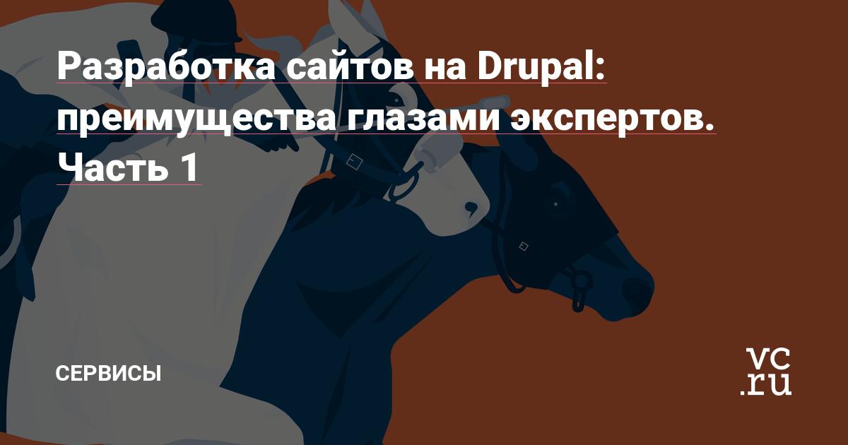 Разработка сайтов на Drupal: преимущества глазами экспертов. Часть 1