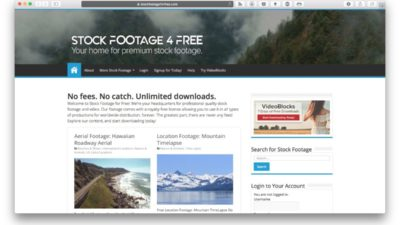 Stock Footage for Free