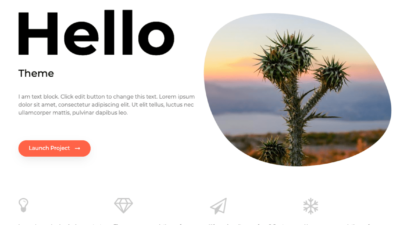 Hello — тема WordPress & Elementor