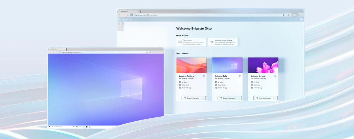 Microsoft представляет Windows 365, открывая пользователям новые возможности облачной ОС