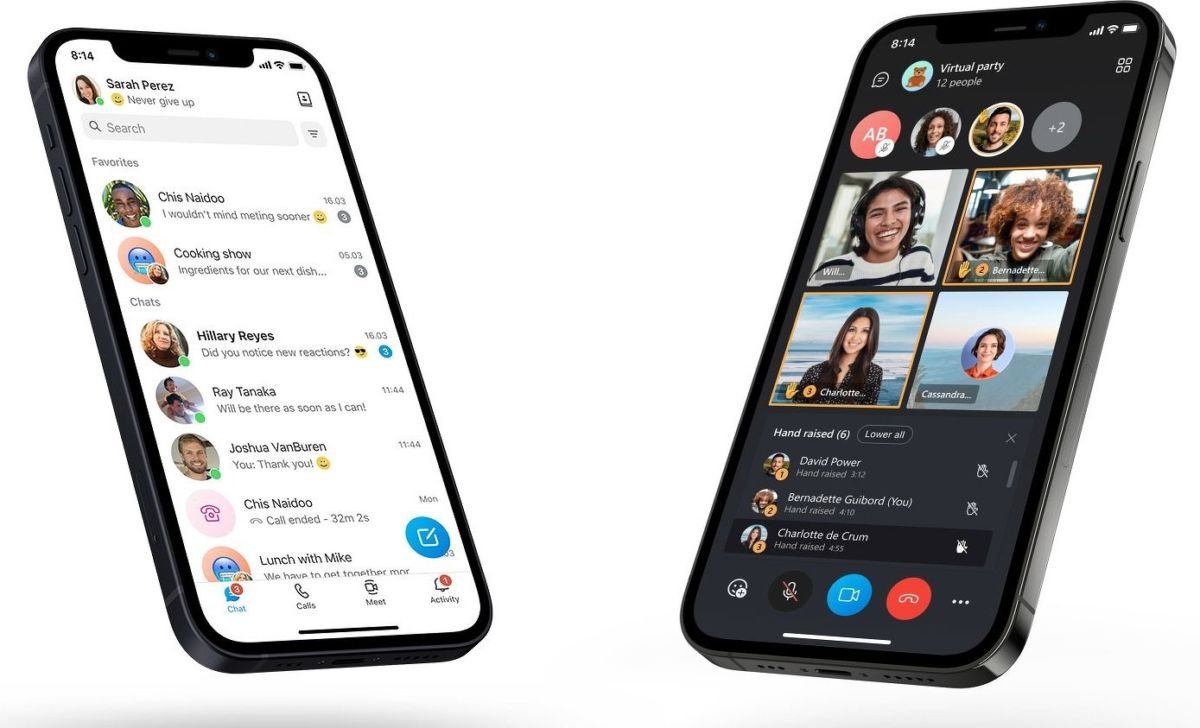 Skype получит крупный редизайн и несколько новых функций